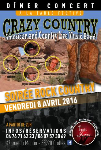 Concert Country Rock Moirans 38430